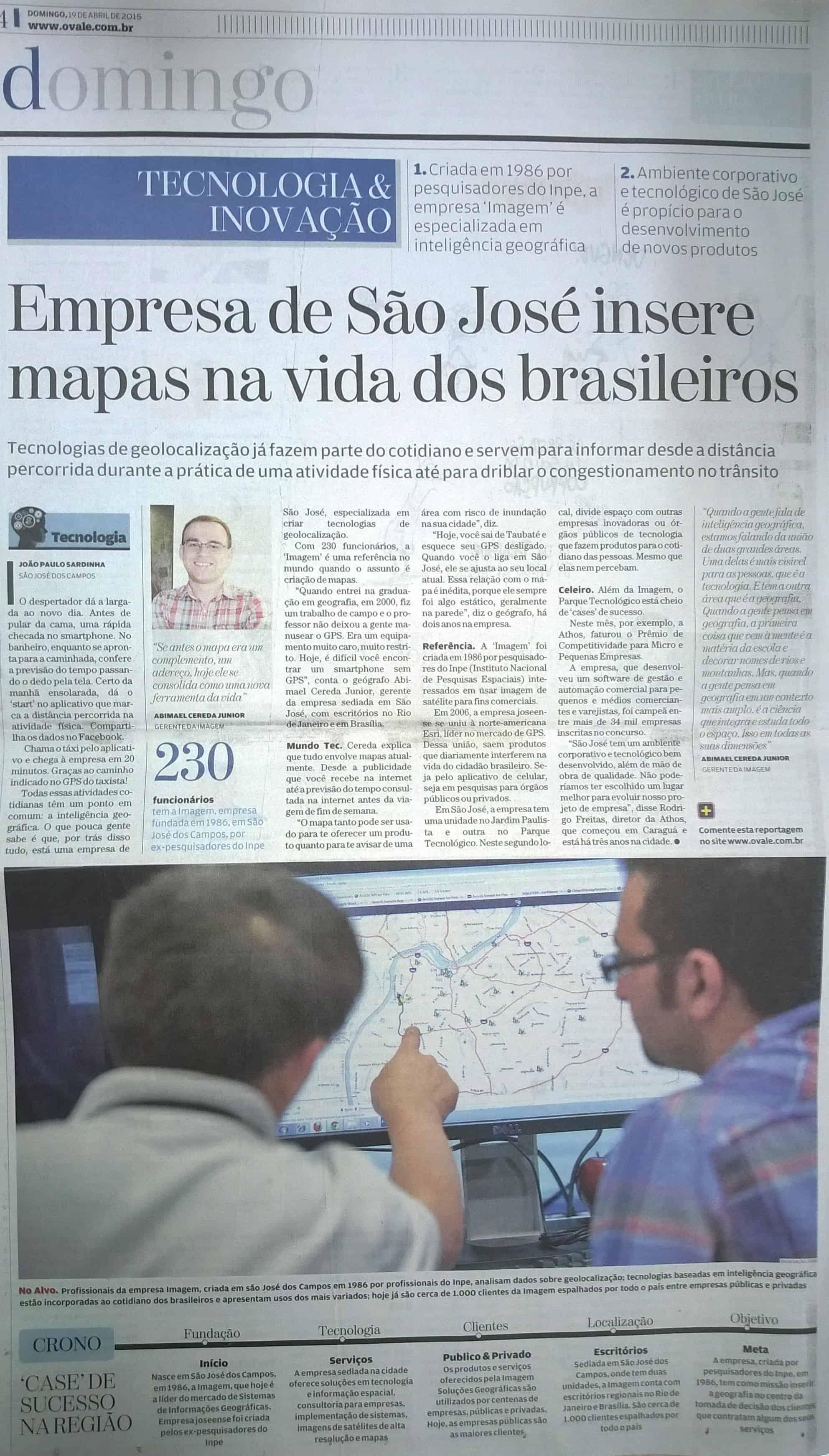 Empresa de São José insere mapas na vida dos brasileiros