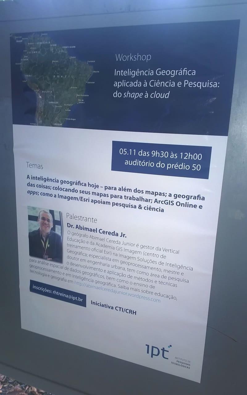 Ciclo de Palestras Instituto de Pesquisas de São Paulo - IPT