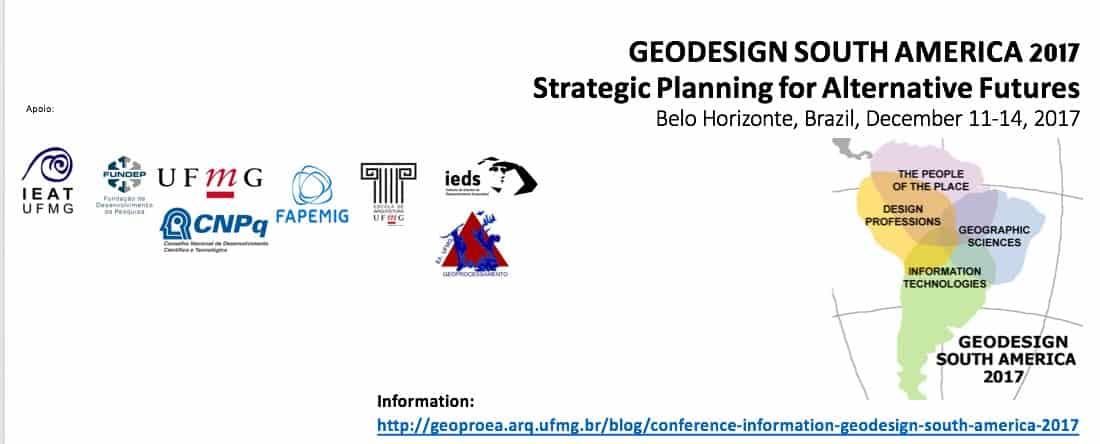Logo Geodesign South America 2017