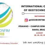 Congresso Internacional de Geotecnologias GEOBONFIM 2018