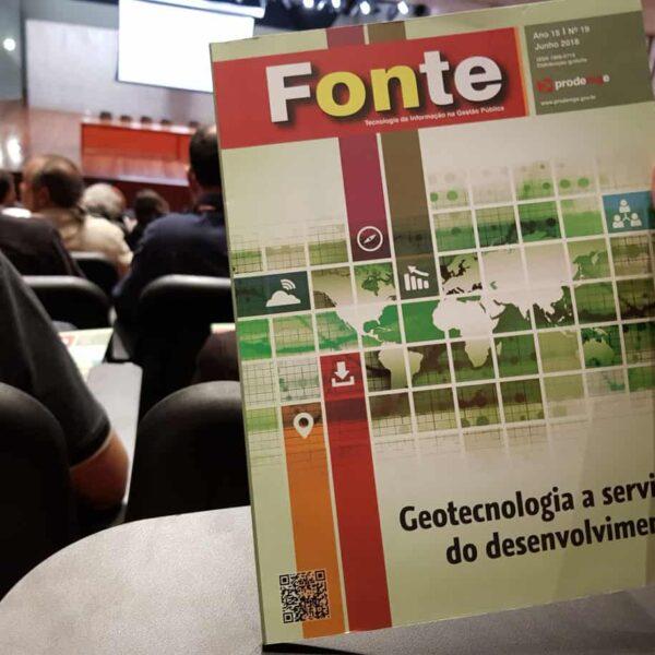 Geotecnologia é tema da nova edição da Revista Fonte