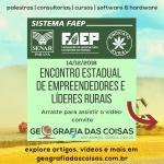 Empreendedores rurais de todo o Paraná se reúnem em Pinhais | Sistema FAEP/SENAR