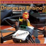 Drones no Ensino: oficina on-line e mais