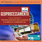 [Pós-graduação Geoprocessameno Senac]Tecnologias aplicadas à Perícia Ambiental | Inteligência Geográfica na Perícia Ambiental
