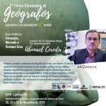 1º Forum Paranaense Geógrafos | A Geografia das Coisas e o Hoje