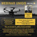 Webinar UNIGIS | Agricultura 4.0 y las Geotecnologías: perspectivas para América Latina