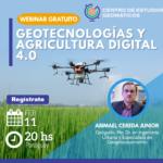 [Centro de Estudios Geomáticos]Geotecnologías y Agricultura Digital 4.0
