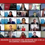 Primera Reunión de Docentes del Semestre 2021-II de la Maestría en Control Gubernamental