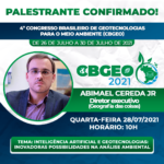 [4º CBGEO]Inteligência Artificial e Geotecnologias: inovadoras possibilidades na Análise Ambiental