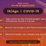 GeoPortais contra a Covid-19 em destaque no MundoGEO Connect