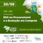 [UDOP 14º Congresso Nacional da Bioenergia]ESG no Procurement e a Evolução em Compras